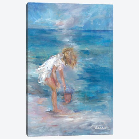 Sea Treasures Canvas Print #TOC5} by Tracy Owen-Cullimore Canvas Wall Art