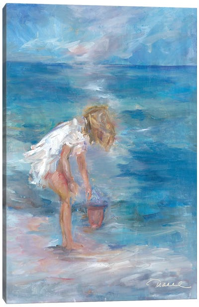 Sea Treasures Canvas Art Print