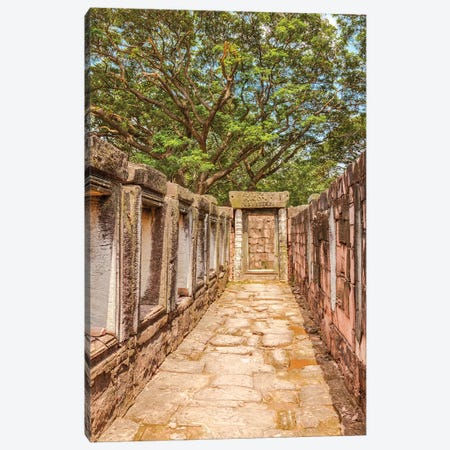 Thailand. Phimai Historical Park. Ruins of ancient Khmer temple complex. Canvas Print #TOH6} by Tom Haseltine Art Print
