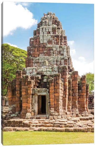 Thailand. Phimai Historical Park. Ruins of ancient Khmer temple complex. Canvas Art Print