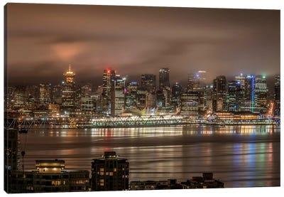 Vancouver Night Canvas Print #TOL10