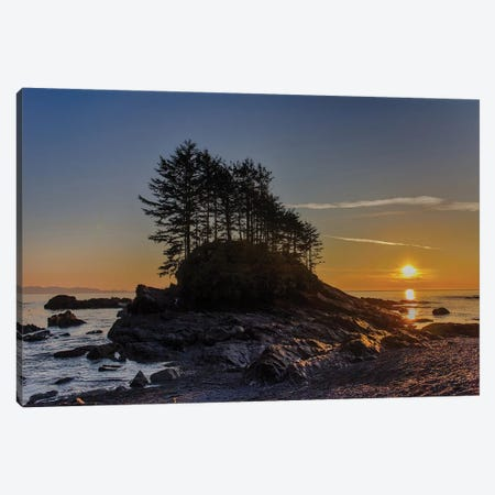 Botany Bay Sunset Canvas Print #TOL12} by Tim Oldford Canvas Artwork