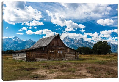 Grand Teton Barn I Canvas Print #TOL7