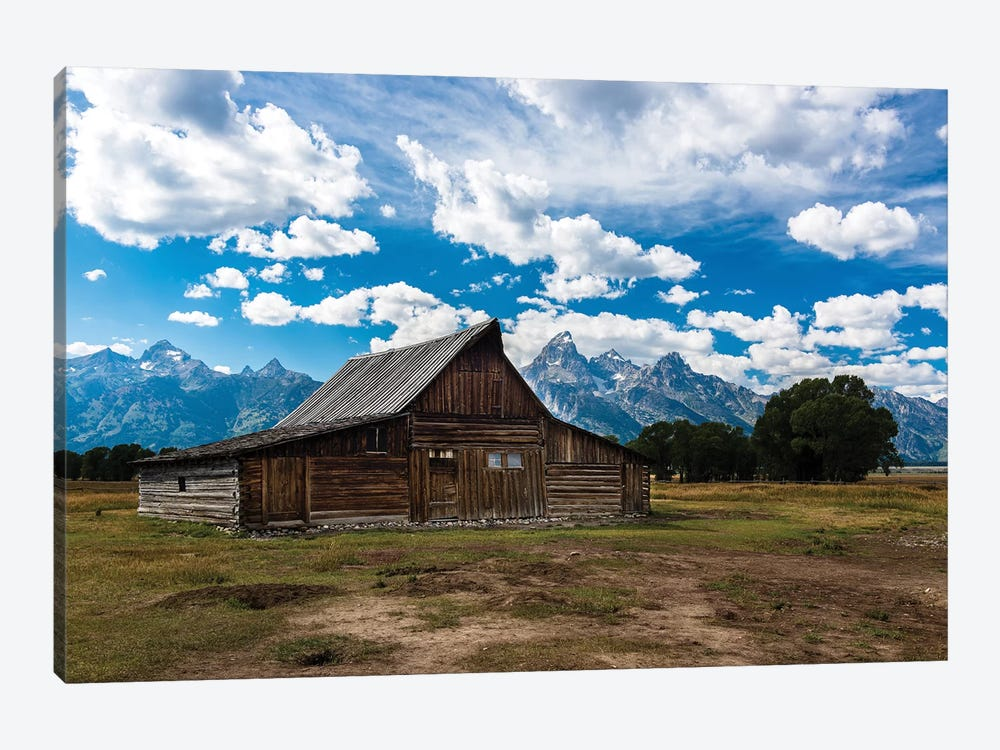 Grand Teton Barn I by Tim Oldford 1-piece Canvas Art