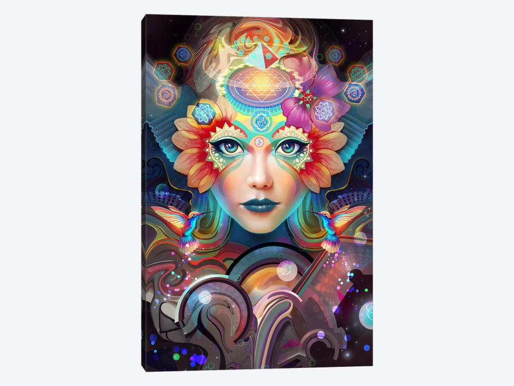 Know Higher Worlds by Alex Tooth 1-piece Art Print