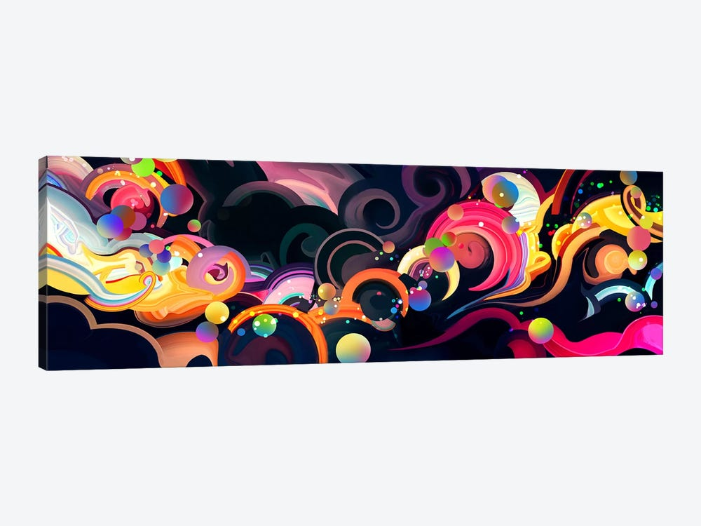 Moonflow by Alex Tooth 1-piece Canvas Art Print