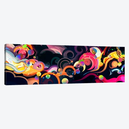 Moonflow Canvas Print #TOO13} by Alex Tooth Canvas Print