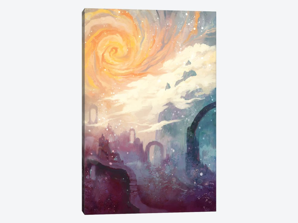 Niflheim by Alex Tooth 1-piece Canvas Artwork