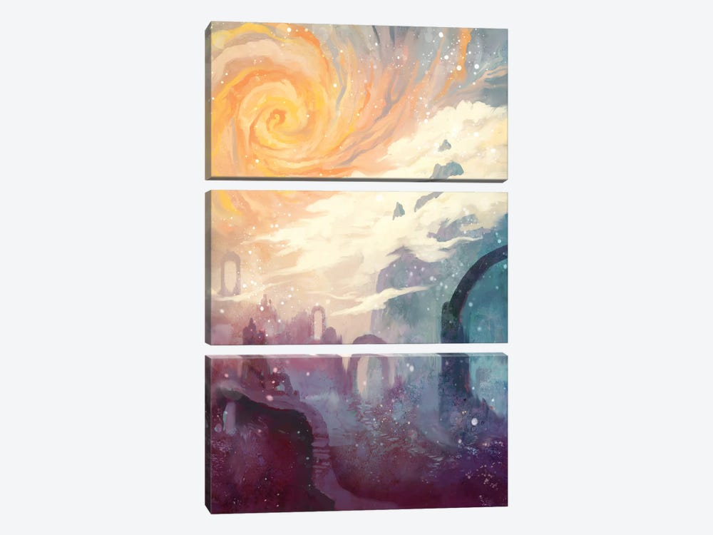 Niflheim by Alex Tooth 3-piece Canvas Wall Art