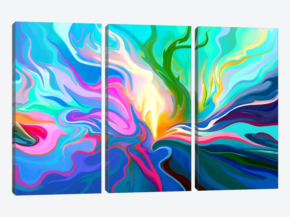 Passage 3-piece Canvas Wall Art