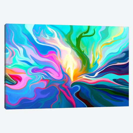 Passage Canvas Print #TOO16} by Alex Tooth Canvas Artwork
