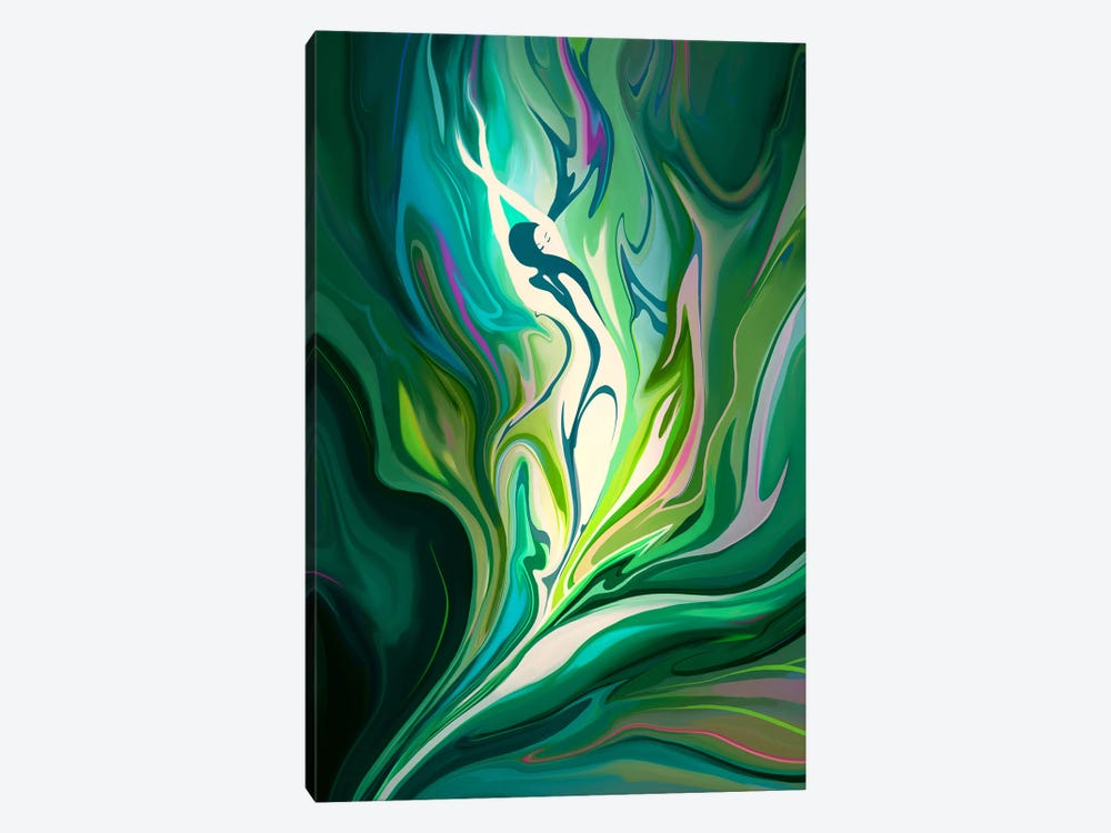 Rebirth by Alex Tooth 1-piece Canvas Print
