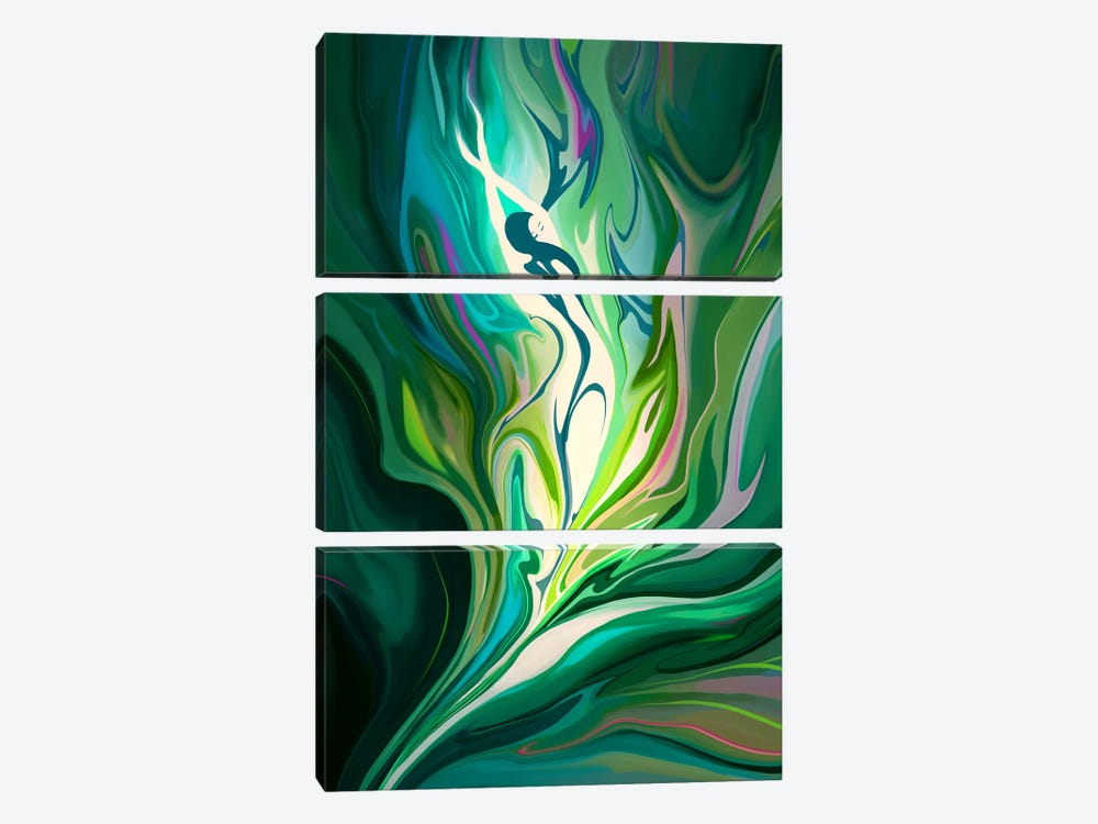 Rebirth by Alex Tooth 3-piece Art Print