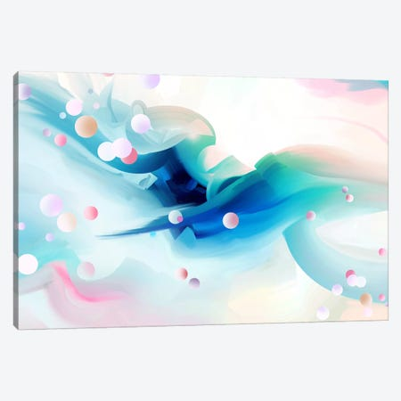 Silken Canvas Print #TOO21} by Alex Tooth Canvas Art