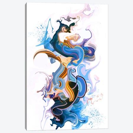 Spirit Canvas Print #TOO23} by Alex Tooth Canvas Wall Art