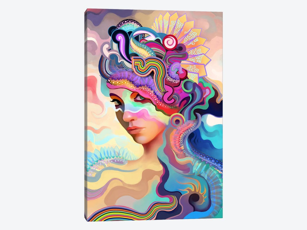 Summer by Alex Tooth 1-piece Canvas Artwork
