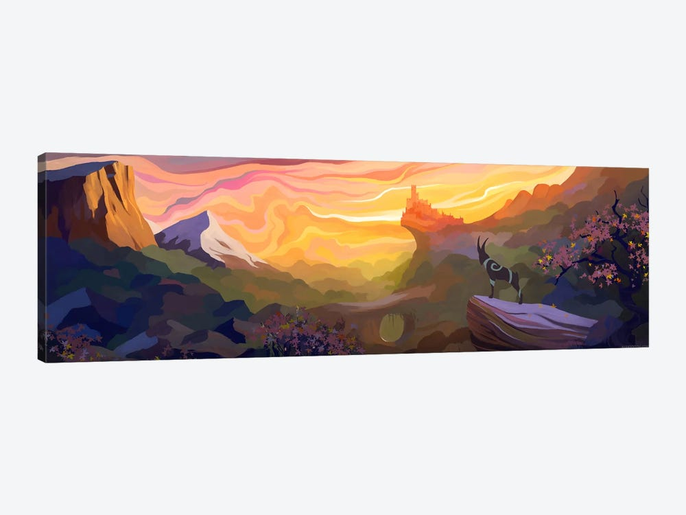 Valley Of The Sun by Alex Tooth 1-piece Canvas Print