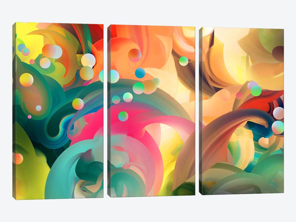 Zyrian 3-piece Canvas Artwork
