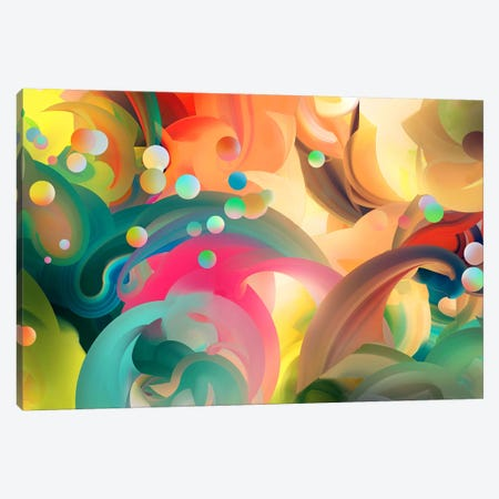 Zyrian Canvas Print #TOO29} by Alex Tooth Canvas Artwork