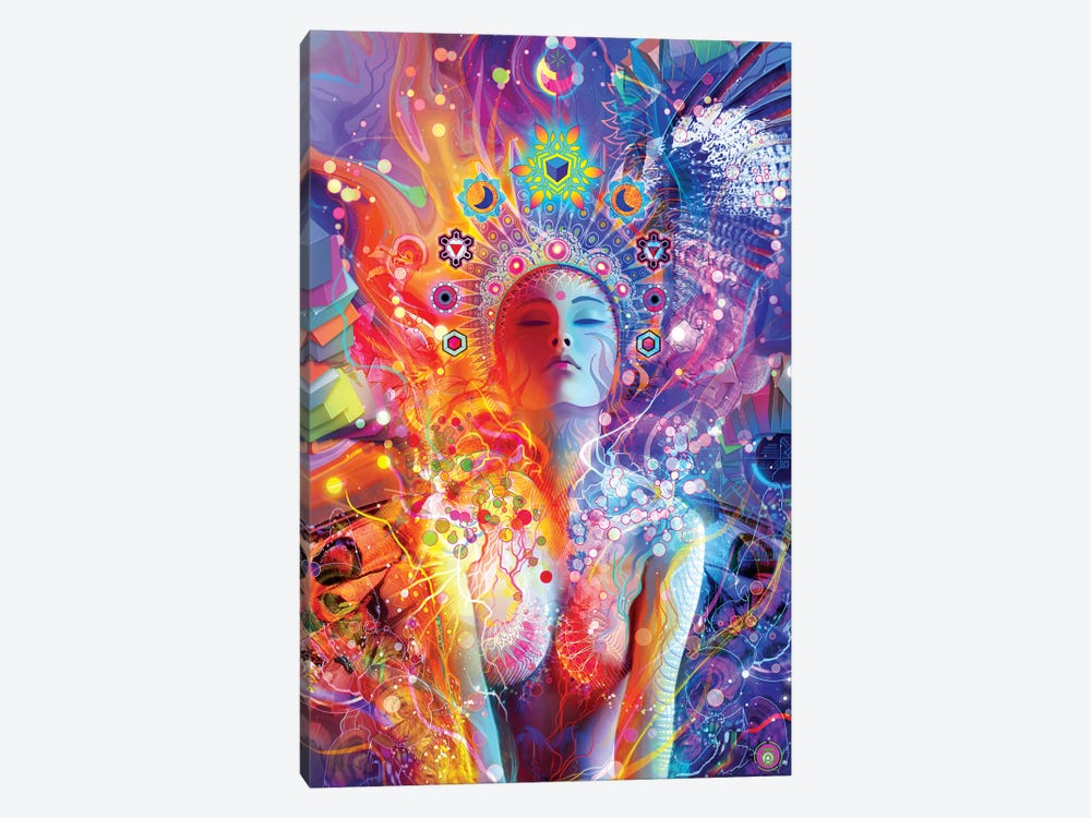 Awakening by Alex Tooth 1-piece Canvas Print