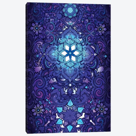 Flower Of Life Canvas Print #TOO34} by Alex Tooth Canvas Wall Art