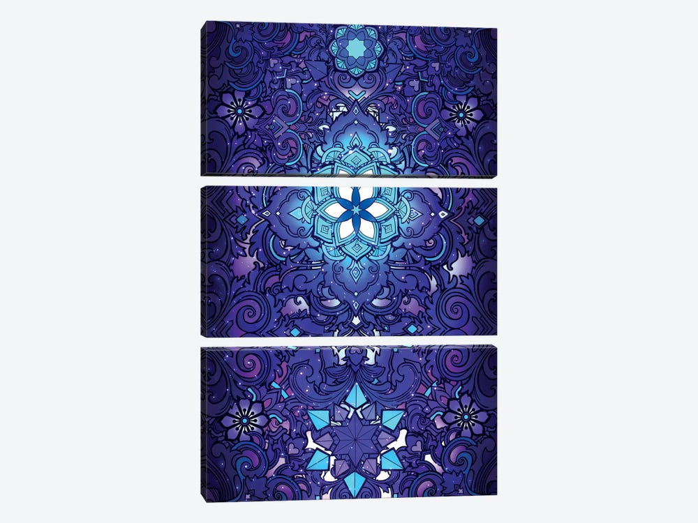 Flower Of Life by Alex Tooth 3-piece Canvas Art