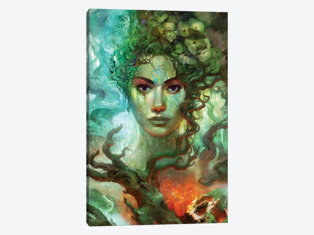 Rebirth II by Alex Tooth 1-piece Canvas Art