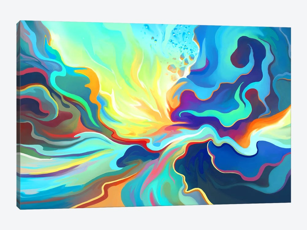 Burst by Alex Tooth 1-piece Canvas Print