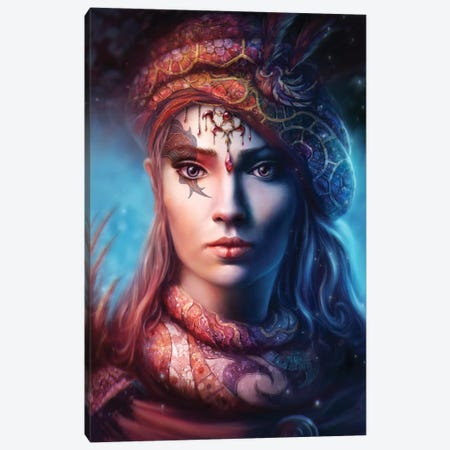 Alysia Canvas Print #TOO40} by Alex Tooth Canvas Art