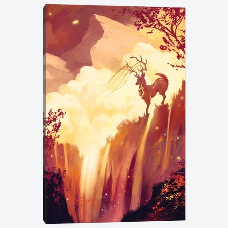 Firefalls Canvas Print #TOO51} by Alex Tooth Canvas Print