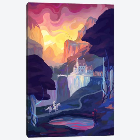 Hero's Journey Canvas Print #TOO59} by Alex Tooth Canvas Art Print