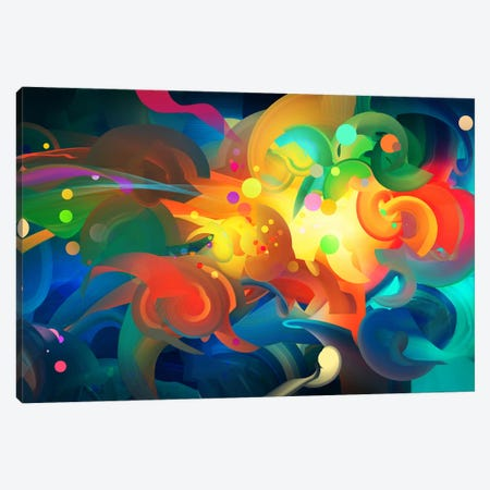 Core Canvas Print #TOO5} by Alex Tooth Canvas Art
