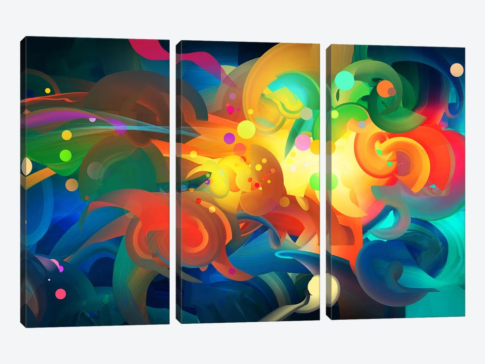 Core by Alex Tooth 3-piece Art Print