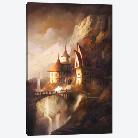 Homecoming Canvas Print #TOO60} by Alex Tooth Canvas Art