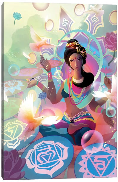 Lakshmi Canvas Art Print