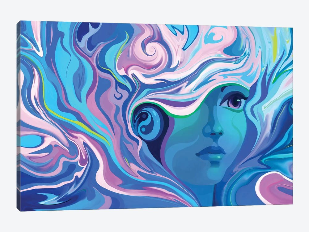 Melting by Alex Tooth 1-piece Canvas Artwork