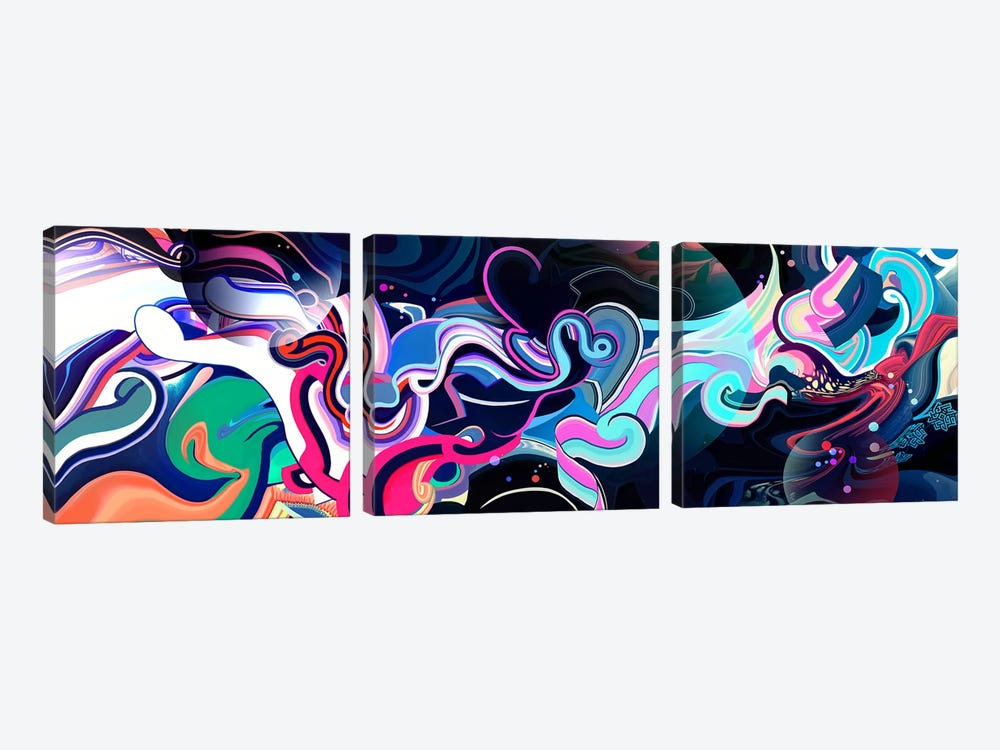 Creation by Alex Tooth 3-piece Canvas Art