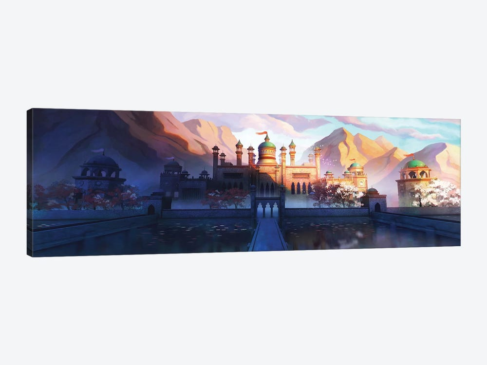 Oasis Palace by Alex Tooth 1-piece Canvas Wall Art