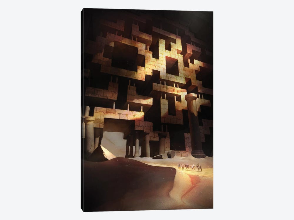 Valley Of The Ancients by Alex Tooth 1-piece Canvas Wall Art