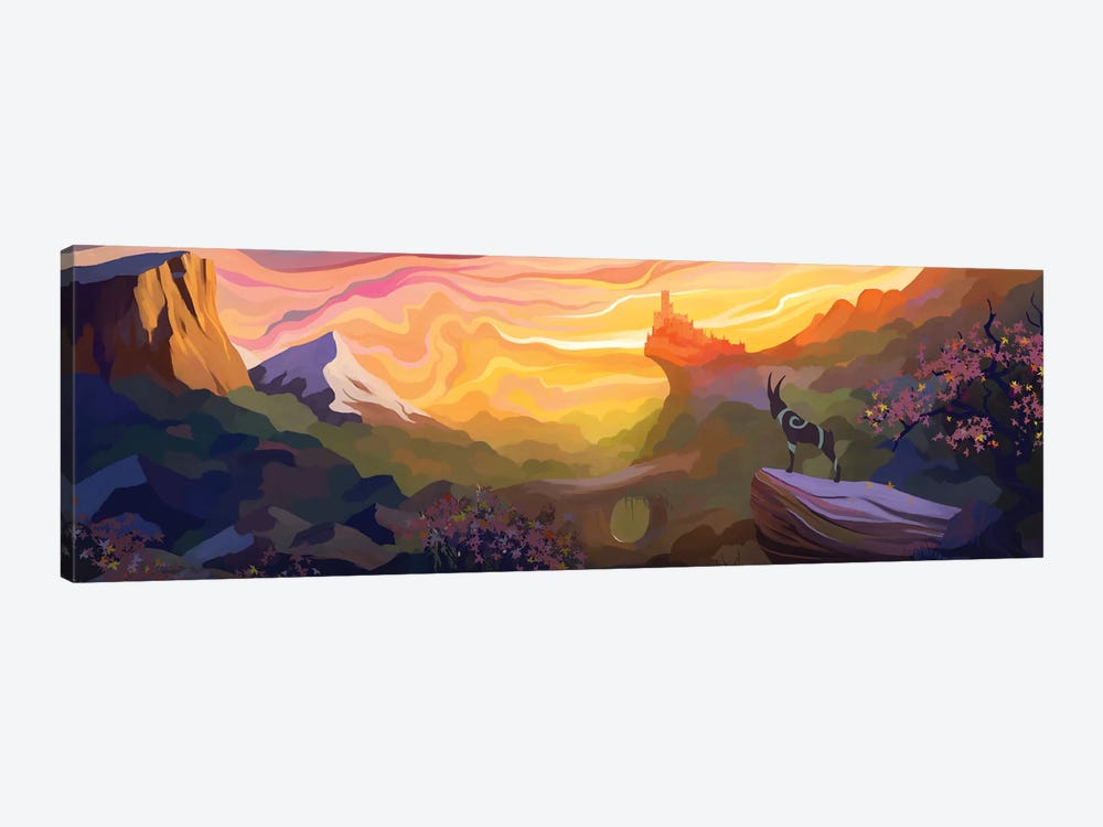 Valley Of The Sun by Alex Tooth 1-piece Canvas Art Print