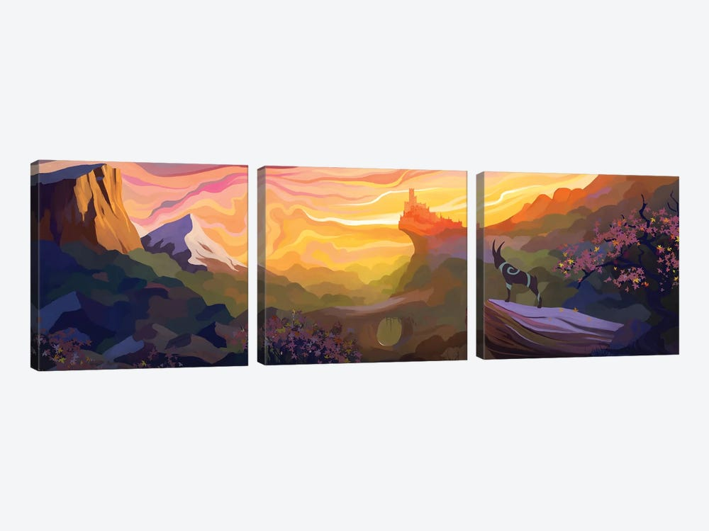 Valley Of The Sun by Alex Tooth 3-piece Art Print