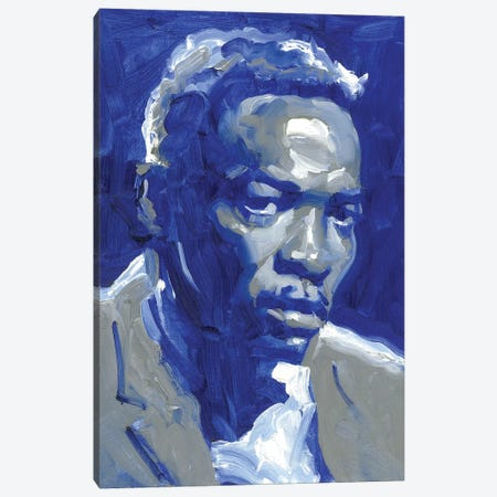 John Lee Hooker Canvas Print #TOP12} by Tony Pro Canvas Art