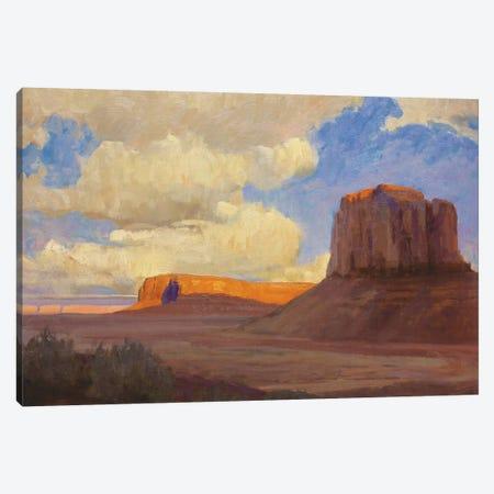 Monumental Skies Canvas Print #TOP17} by Tony Pro Art Print