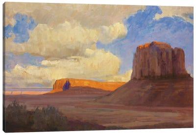 Monumental Skies Canvas Art Print