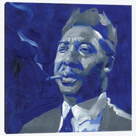 Muddy Waters  Canvas Print #TOP18} by Tony Pro Canvas Art