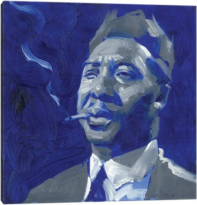 Muddy Waters  Canvas Art Print