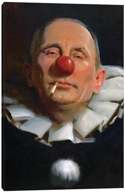 Vladimir Putin Canvas Art Print