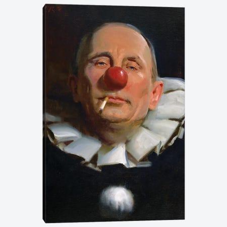 Vladimir Putin Canvas Print #TOP20} by Tony Pro Canvas Art Print