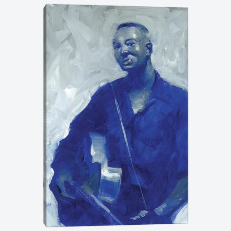 Big Bill Broonzie Canvas Print #TOP3} by Tony Pro Art Print