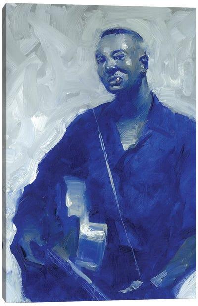 Big Bill Broonzie Canvas Art Print